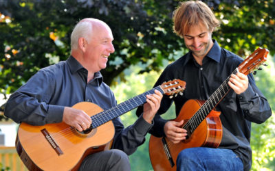 Two generations on guitar